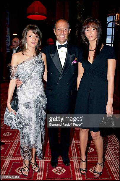 Thierry Gaubert and daughters Anastasia and Milena Deauville's great Ball in the occasion of the 60th anniversary of the association Acare