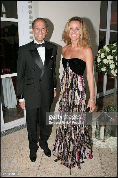 Thierry Gaubert and Eleonore De Galard Ball of Deauville to the benefit of the association Care France and in the occasion of the creation of Care...