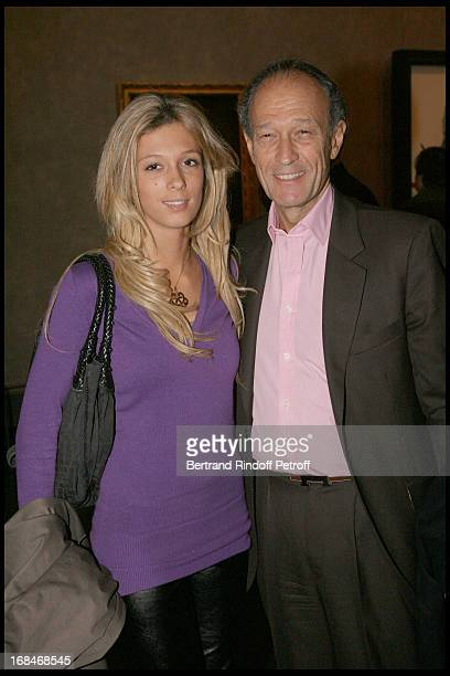 Thierry Gaubert and his daughter at Private Viewing Of The Exhibition Picasso Et Les Maitres At Grand Palais In paris