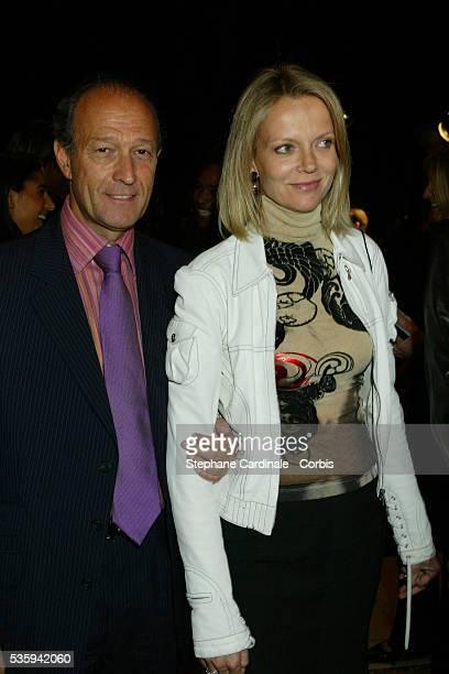 Thierry Gaubert and Hélène de Yougoslavie