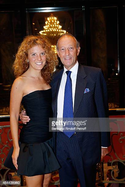 Thierry Gaubert and Valentina Colombo attend the Grand Bal de Deauville For Care France Association in Casino Barriere de Deauville on August 30 2014...