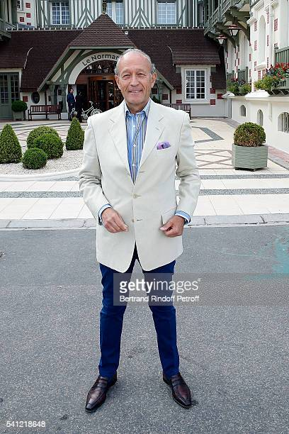 Thierry Gaubert attends the Hotel Normandy ReOpening at Hotel Normandy on June 18 2016 in Deauville France