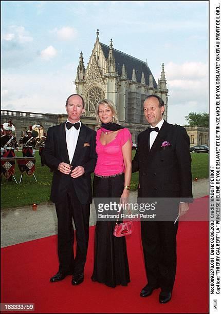 Thierry Gaubert Princess Helene De Yougoslavie and Prince Michel De Yougoslavie dinner to the benefit of the Sovereign Order Of Malta in Lebanon