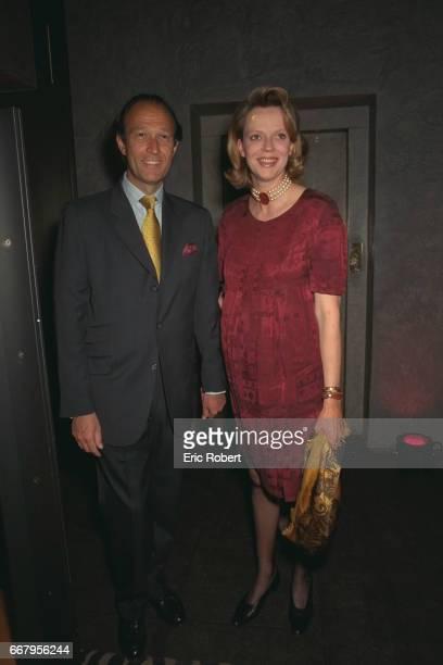 Thierry Gaubert with wife Helene of Yugoslavia