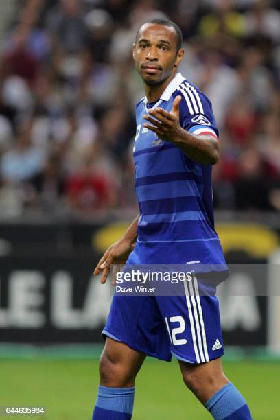 Thierry HENRY - - France / Serbie - Qualifications Coupe du monde 2010, Photo : Dave Winter / Icon Sport