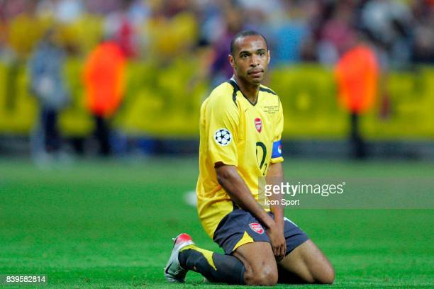 Thierry HENRY Fc Barcelone / Arsenal Finale de la Ligue des Champions Stade de France Paris