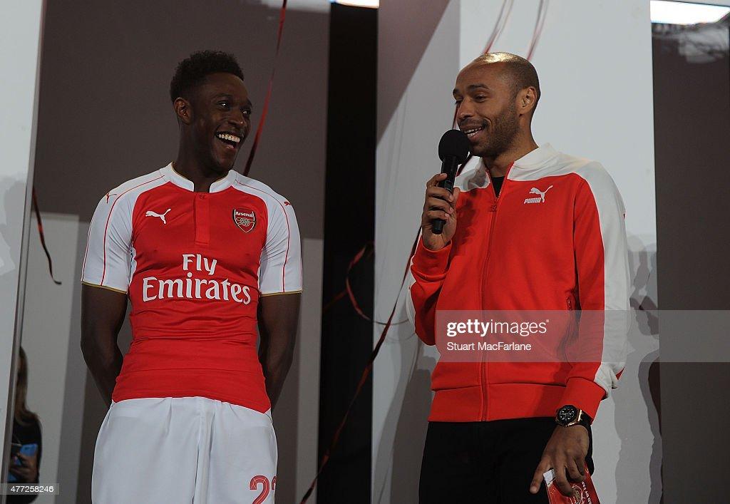 Arsenal Home Kit Launch for Season 2015/16 : News Photo