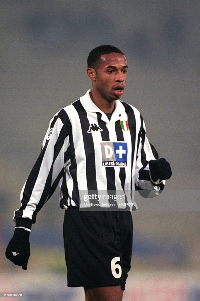 sale retailer 079b6 bd345 Thierry Henry, Juventus. News Photo - Getty Images