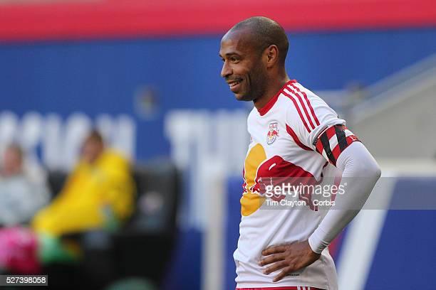 Thierry Henry, New York Red Bulls, during the New York Red Bulls Vs Columbus Crew, Major League Soccer regular season match at Red Bull Arena,...