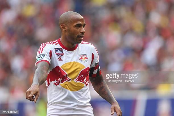 Thierry Henry, New York Red Bulls, in action during the New York Red Bulls Vs Arsenal FC, friendly football match for the New York Cup at Red Bull...