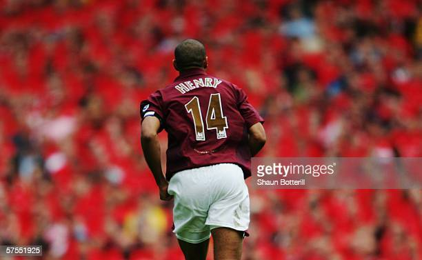 Thierry Henry of Arsenal during the Barclays Premiership match between Arsenal and Wigan Athletic at Highbury on May 7, 2006 in London, England. The...