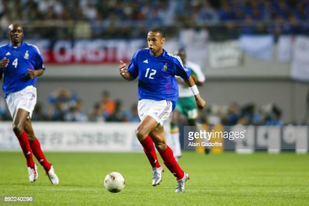 Thierry Henry of France during the World Cup match between France and Senegal in World Cup Stadium, Seoul, South Korea on 31th May 2002