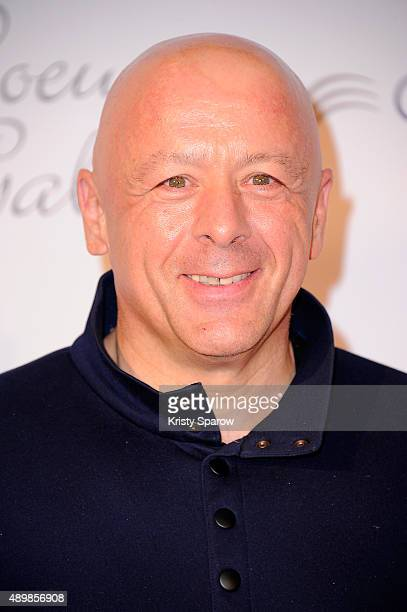 Thierry Marx attends the 'Par Coeur' Gala To Benefit CKDB Ce Ke Du Bonheur Association at Pavillon d'Armenonville on September 24 2015 in Paris France