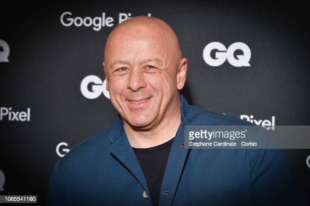 Thierry Marx GQ French chef of the decade attend GQ Men Of The Year Awards 2018 at Centre Pompidou on November 26 2018 in Paris France