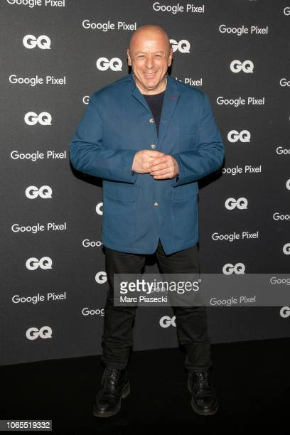 Thierry Marx GQ French chef of the decade attends GQ Men Of The Year Awards 2018 at Centre Pompidou on November 26 2018 in Paris France