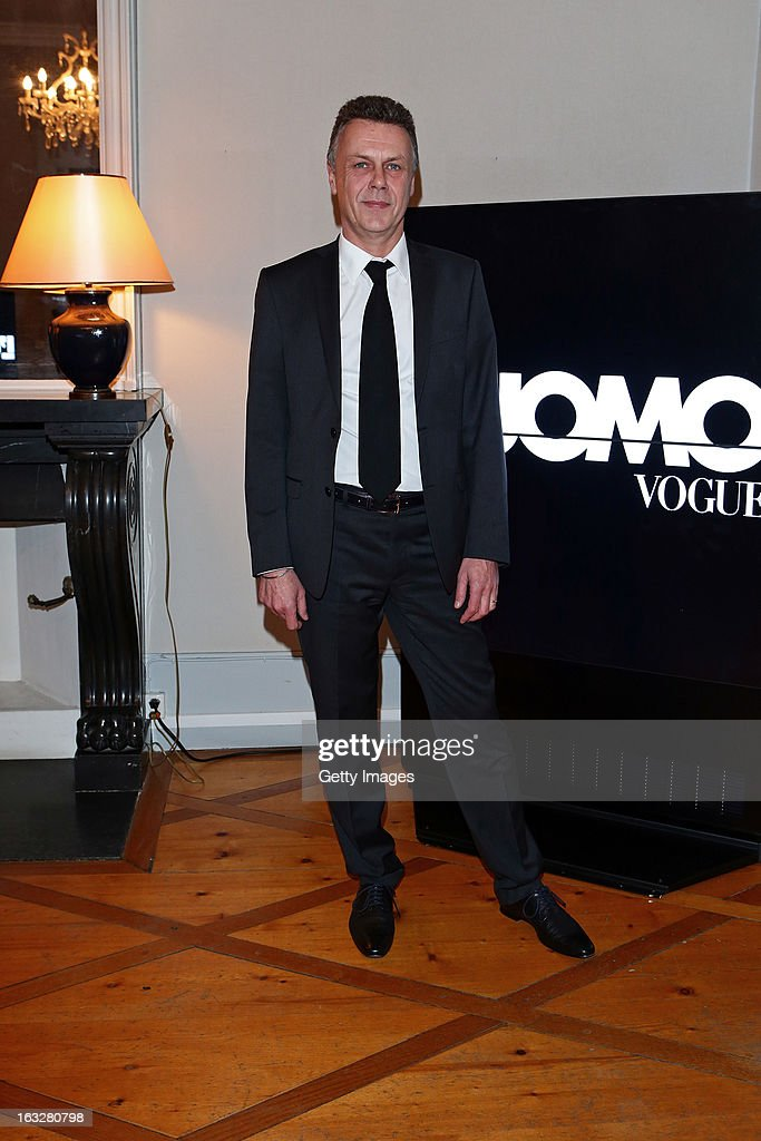Thierry Metroz, Head of Citroen Design, attends the charity auctioning of the first 'Citroen DS3 Cabrio L'Uomo Vogue' hosted by L'Uomo Vogue and Citroen at the Permanent Mission of France to the United Nations Office on March 6, 2013 in Geneva, Switzerland.