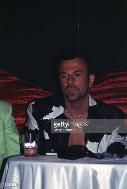 Thierry Mugler during Drag Queen Contest at Club USA in New York City New York United States