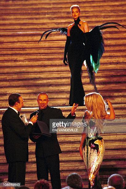 Thierry Mugler in Rome Italia on July 15th 1999