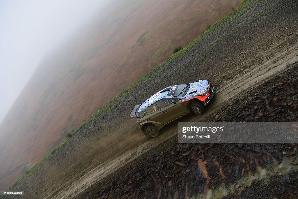 FIA World Rally Championship Great Britain - Day One