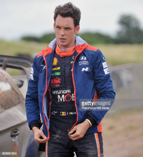 Thierry Neuville BEL Hyundai Motorsport during the WRC Orlen 74 Rally Poland on June 30 2017 in Mikolajki Poland