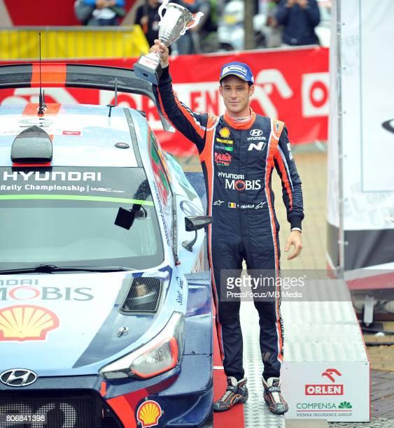 Thierry Neuville BEL Hyundai Motorsport during the WRC Orlen 74 Rally Poland Ceremonial Finish on July 02 2017 in Mikolajki Poland