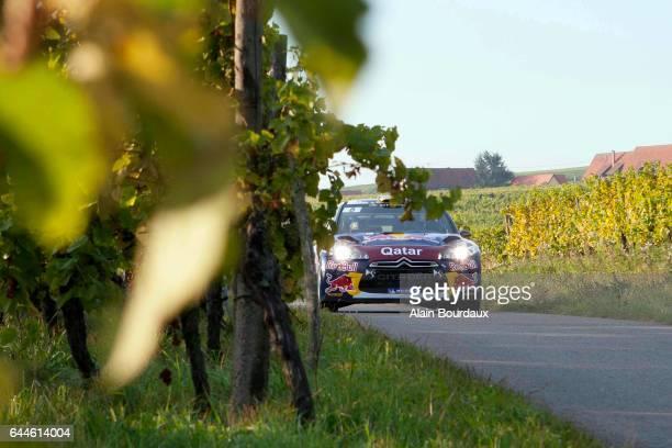 Thierry Neuville Citroen DS3 Rallye de france 2012 Alsace Photo Alain Bourdaux / Icon Sport