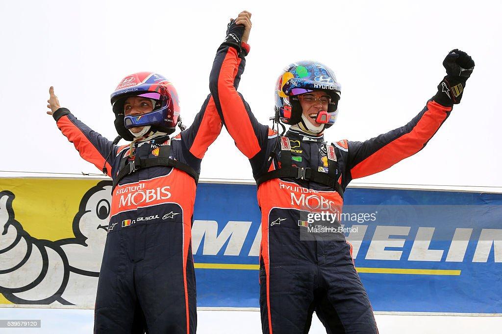 FIA World Rally Championship Italy - Day Three : News Photo
