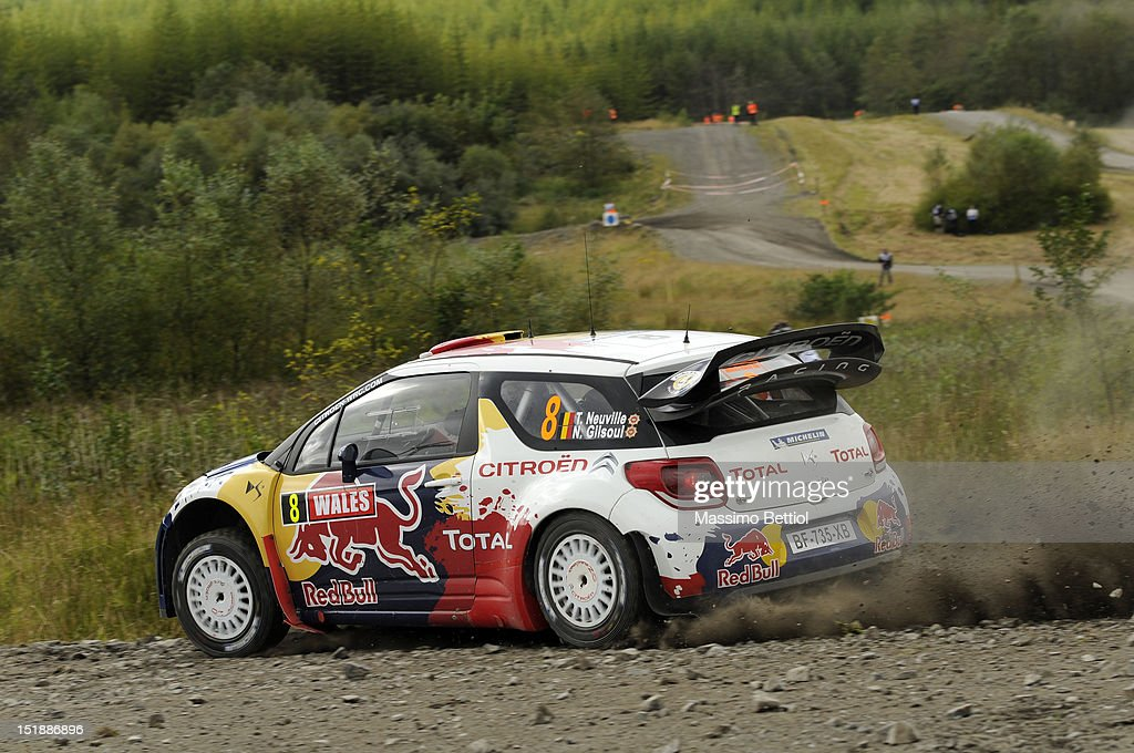 FIA World Rally Championship Great Britain - Shakedown : News Photo