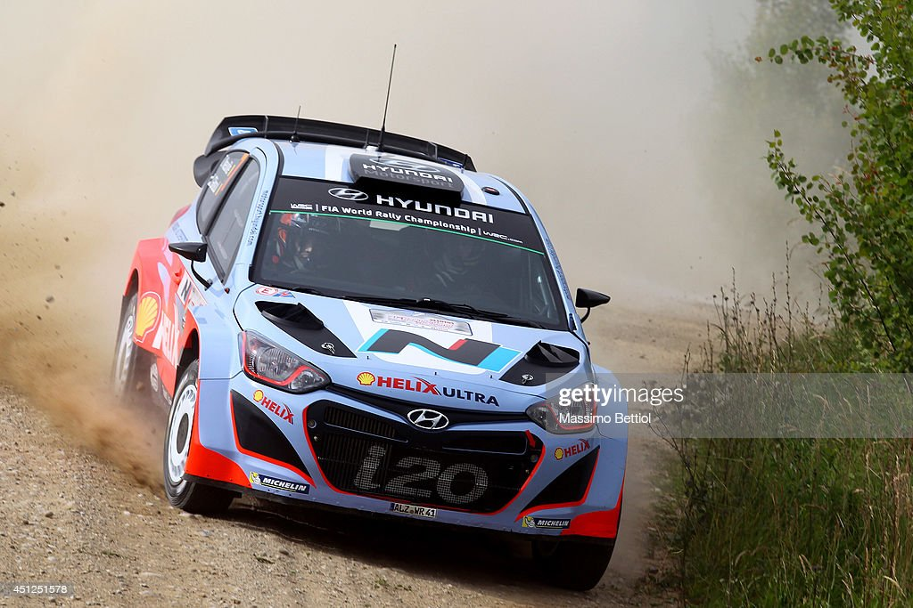 FIA World Rally Championship Poland - Shakedown : News Photo