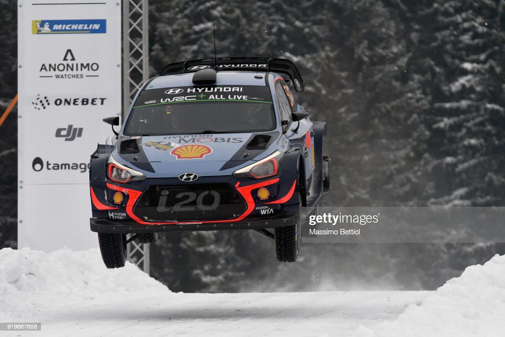 FIA World Rally Championship Sweden - Day Two : News Photo