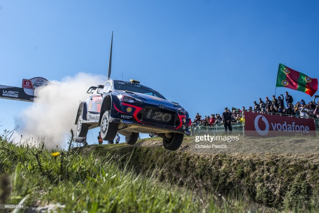 FIA World Rally Championship Portugal - Day Four : News Photo