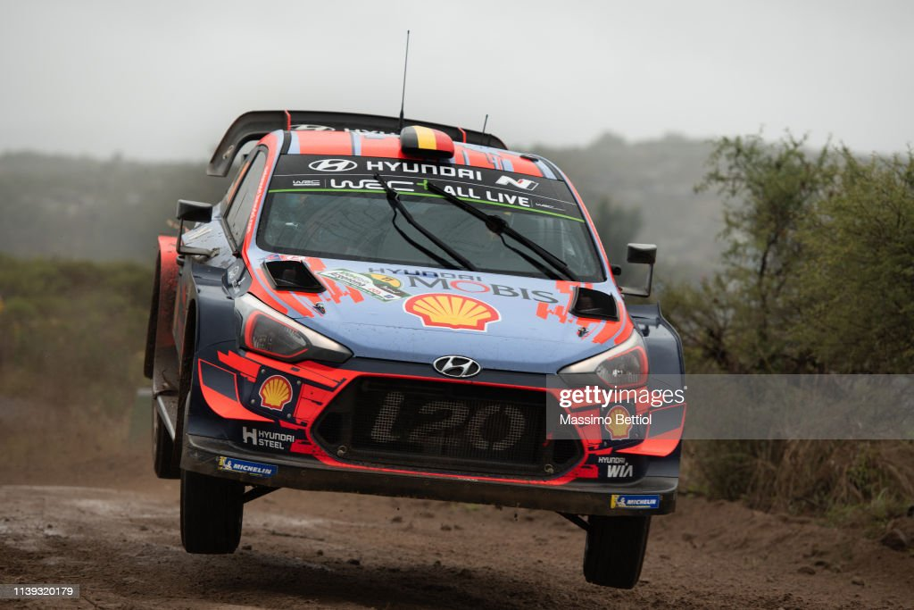 ARG: FIA World Rally Championship Argentina - Shakedown