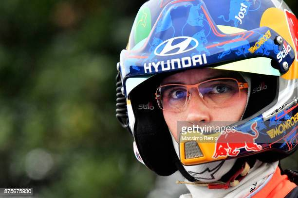 Thierry Neuville's of Belgium portrait during Day Two of the WRC Australia on November 18 2017 in Coffs Harbour Australia