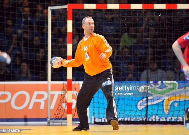 Thierry OMEYER - - France / Serbie - Match amical a Lievin-, Photo : Dave Winter / Icon Sport,
