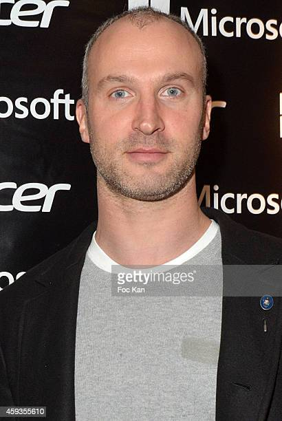 Thierry Omeyer attends the Acer Pop Up Store Launch Party at Les Halles on November 20 2014 in Paris France