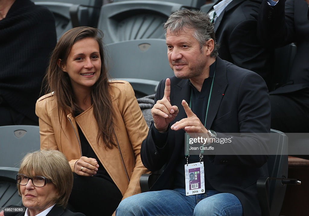 Thierry Rey attends Day 8 of the French Open 2014 held at Roland-Garros stadium on June 1, 2014 in Paris, France.