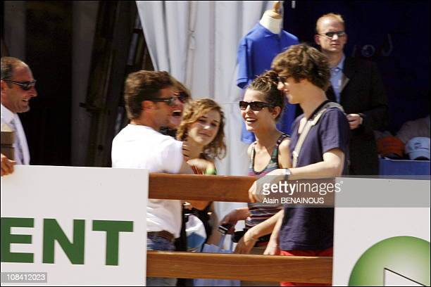 Thierry Rozier Charlotte Casiraghi and her boyfriend Felix in Monaco on June 23 2006