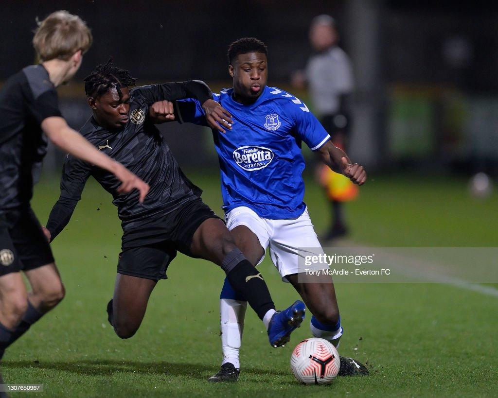 Everton U18 v Wigan Athletic U18: FA Youth Cup : News Photo