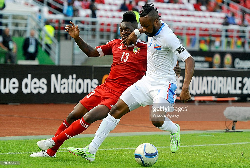 2015 Africa Cup of Nations - Congo vs Democratic Republic of the Congo : News Photo