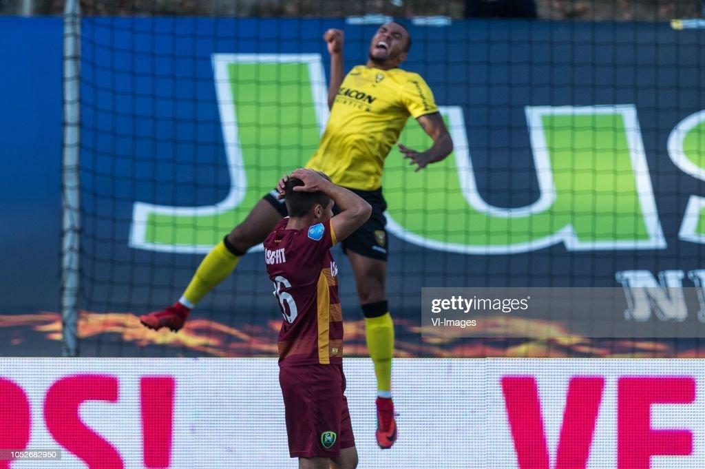 "Dutch Eredivisie""VVV Venlo v ADO Den Haag"" : News Photo"