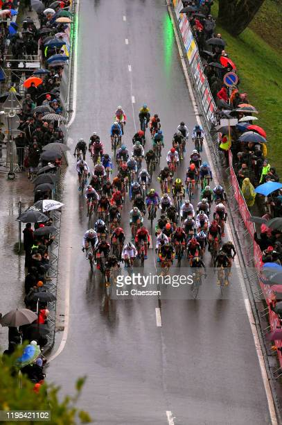 Thijs Aerts of Belgium and Team Telenet - Baloise Lions / Corne Van Kessel of The Netherlands and Team Telenet - Baloise Lions / Quinten Hermans of...