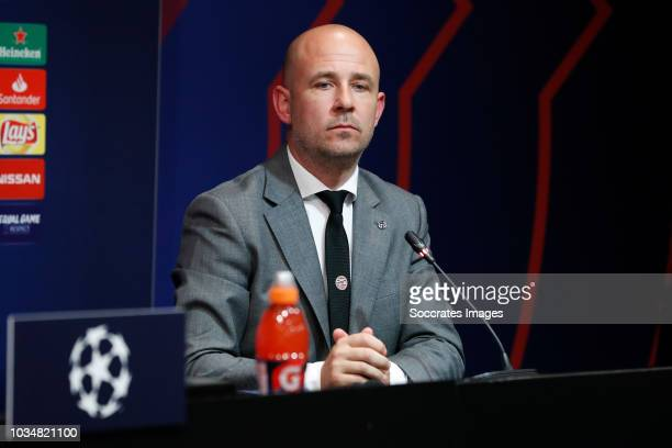 Thijs Slegers during the Training PSV at the Camp Nou on September 17 2018 in Barcelona Spain