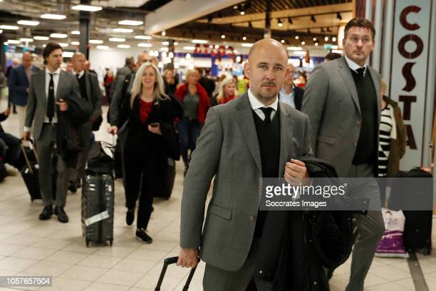 Thijs Slegers of PSV during the Arrival PSV in London on November 5 2018 in London Netherlands