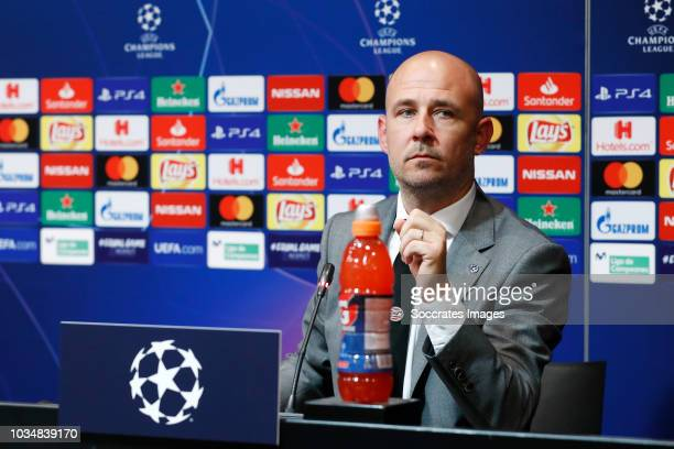 Thijs Slegers of PSV during the Training PSV at the Camp Nou on September 17 2018 in Barcelona Spain