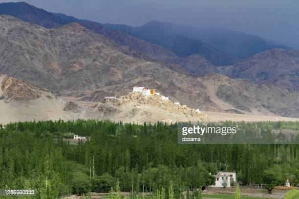 thiksay monastry ladakh, india - religious service stock pictures, royalty-free photos & images