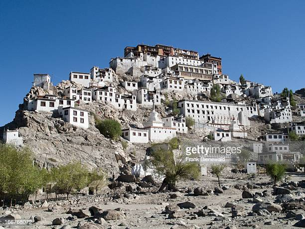 THIKSEY JAMMU KASHMIR INDIA Thikse Gompa a huge monastery situated on a hill south of Leh overlooking the Indus valley