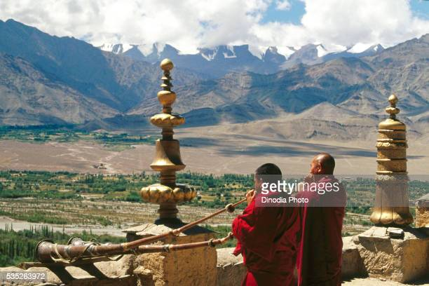 Thikse Monastery in Jammu and Kashmir, India.