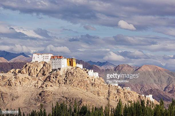 thiksey gompa, ladakh, india - remote location stock pictures, royalty-free photos & images