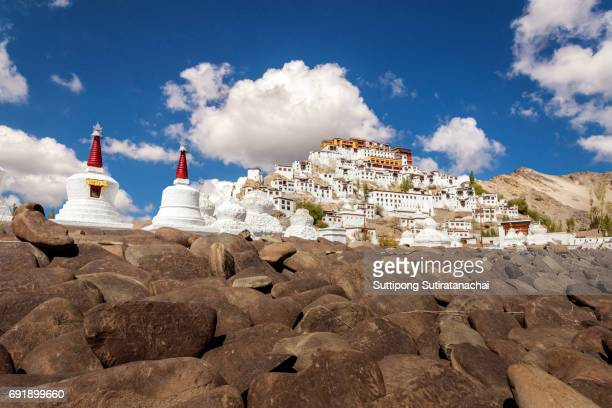 Thiksey Monastery is a Tibetan Buddhist monastery in Ladakh, India.