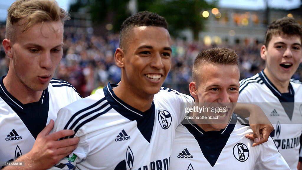 U19 FC Schalke 04 v U19 1899 Hoffenheim - A-Juniors Bundesliga Final : News Photo